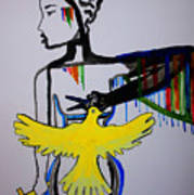 Hope For Peace In South Sudan Art Print