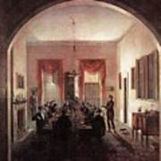Jlm-1820-henry Sargent-the Dinner Party 782x1024 Henry Sargent Art Print