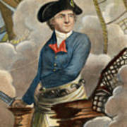 John Paul Jones, 1747-1792 Art Print