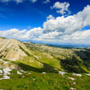 Mountain Panorama, Italy Art Print