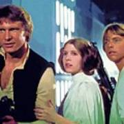 Star Wars Episode 2 Poster Art Print