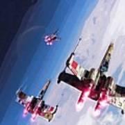 Star Wars Episode 5 Art Art Print