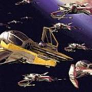 Star Wars Old Poster Art Print