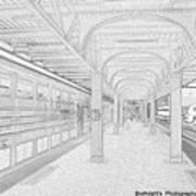 Train Station Series Art Print