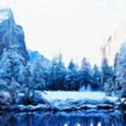 Landscape On Nature Art Print