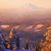 Oil Paintings Art Landscape Nature Art Print