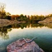 Landscape Nature Pictures Art Print