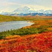 Nature Oil Painting Landscape Images Art Print