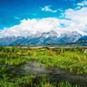 Nature Cool Landscape Art Print