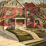 1385 Clara Avenue Art Print