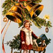 American Christmas Card Art Print