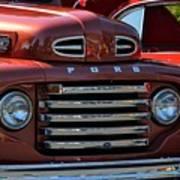 Classic Ford Pickup Art Print