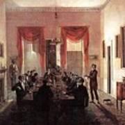 Jlm-1820-henry Sargent-the Dinner Party Henry Sargent Art Print