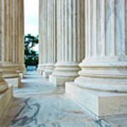 Supreme Court Building Washington Dc Art Print