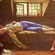 Wallis Henry The Death Of Chatterton Henry Wallis Art Print