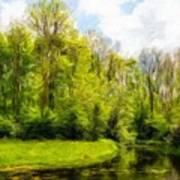 Nature Landscape Lighting Art Print