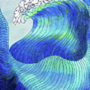 141 - Waves Art Print