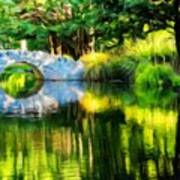 Nature Landscape Oil Painting On Canvas Art Print