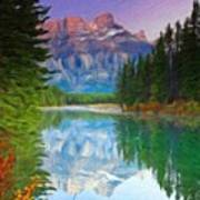 Oil Painting Landscape Pictures Nature Art Print
