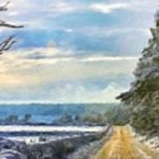 Nature Landscape Jobs Art Print