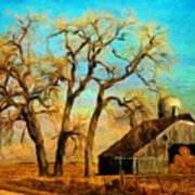 Nature Landscape Painting Art Print