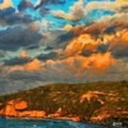 Nature Landscape Oil Painting Art Print