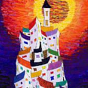 15-22 Sun Village Art Print