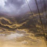 First Nebraska Storm Chase 2015 Art Print
