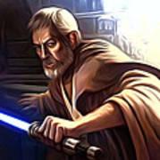 Jedi Star Wars Art Art Print