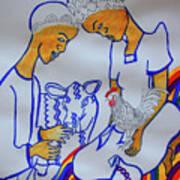 Kintu And Nambi A Ugandan Folktale Art Print