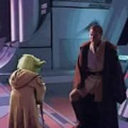 Original Star Wars Poster Art Print