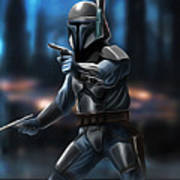 Star Wars Heroes Art Art Print