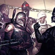 Star Wars Heroes Poster Art Print