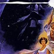 Star Wars Poster Art Art Print