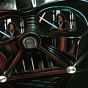 Vintage Star Wars Art Art Print