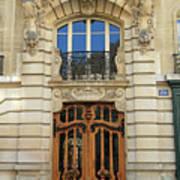 151 Rue De Grenelle Paris Art Print