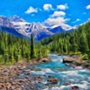Nature Oil Painting Landscape Art Print