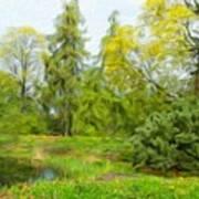 Landscape Art Nature Art Print