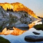 Landscape Oil Painting Nature Art Print