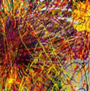 16-10 String Burst Art Print