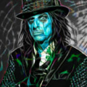 Alice Cooper Collection Art Print