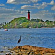 16- Jupiter Lighthouse Art Print