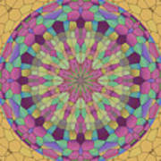 Mandala Ornament Art Print