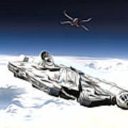 New Star Wars Poster Art Print