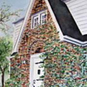 16 Oak Street Art Print