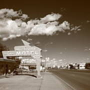 Route 66 - Tucumcari New Mexico Art Print