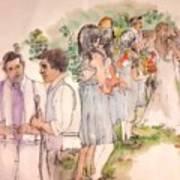 The Wedding Album  Art Print