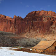 Capitol Reef National Park Art Print
