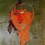 16937 Amedeo Modigliani Art Print