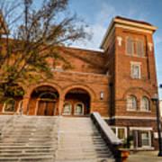 16th Street Baptist Church Steps In Birmingham Alabama Art Print